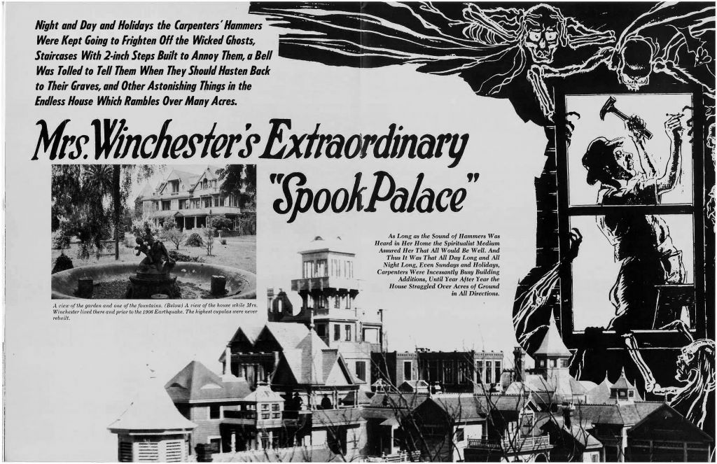 Article at the American Weekly. Published April 1, 1928. (Source: Anne Garner Papers, History San Jose)