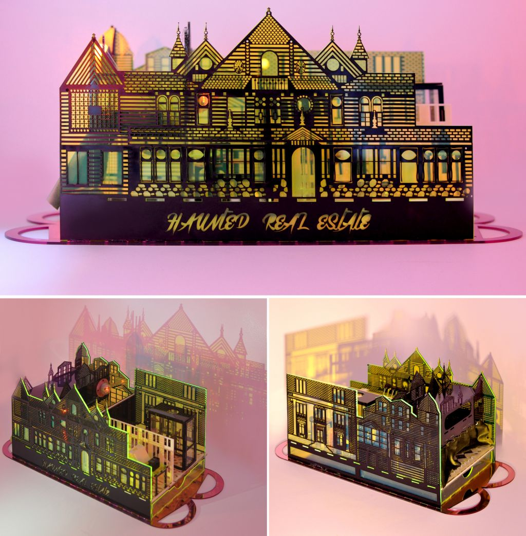 Haunted Real Estate. A model representing the architectures of haunting